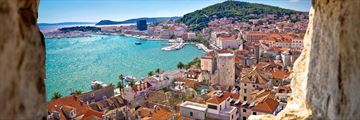 Panoramic views of Split