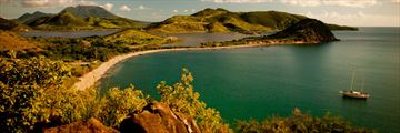 Southeast peninsula in St Kitts