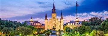 St Louis Cathedral, Jackson Square, New Orleans