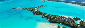 St. Regis Bora Bora Resort, Aerial View of Resort