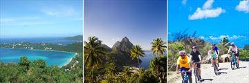 St Thomas, St Lucia & St Maartan Islands