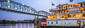 Steamboat in Chattanooga, Tennessee