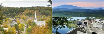 Stowe, The Green Mountains & Quechee, Vermont