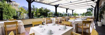 Suite Villa Maria, Terraza Desayuno