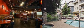 Summit Lodge & Spa, Elements Urban Tapas Parlour, Pool and Hot Tub