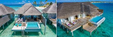 Dolphin Ocean Suite and King Ocean Suite at Sun Aqua Iru Veli