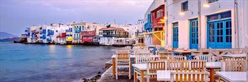 Sunrise at Little Venice, Mykonos