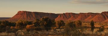 Sunset over Kings Canyon
