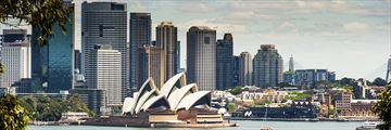 Skyline view of Sydney
