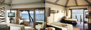 Taj Coral Reef Resort & Spa, Superior Charm Beach Villa Ocean View and Premium Indulgence Water Villa Ocean View