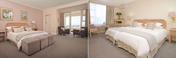 The Beach Hotel, Sea Facing Superior Room and Non Sea Facing Standard Room