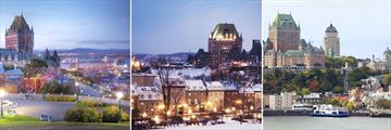 The beautiful architecture of Quebec City