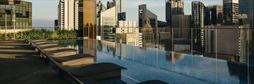 Sky Pool at The Clan Hotel