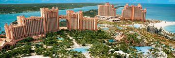 The Cove Atlantis, Aerial View of Resort