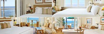 The Inn at Laguna Beach, (clockwise from top left): Top Floor Ocean View, Ocean View Room, Suite and Balcony Ocean View Room