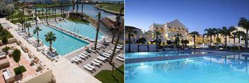The main pool at The Lake Spa Resort