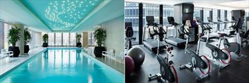 Pool and Gym at The Langham Chicago