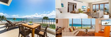 Private balconies and colourful interiors at The Reef by CuisinArt
