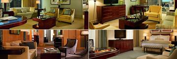 The Ritz-Carlton, (clockwise from top left): Executive Suite, Parlour Suite, Uptown Suite and The Ritz Carlton Suite