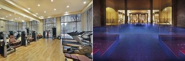 The Ritz-Carlton, Ras Al Khaimah, Al Wadi Desert, Fitness Centre and Spa Pool