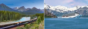 The Rocky Mountaineer & Norwegian Bliss Cruise Ship