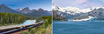 The Rocky Mountaineer & Norwegian Bliss Cruise Ship
