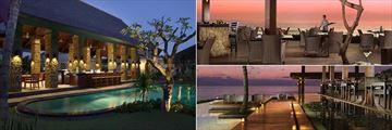 Brasserie Restaurant, Samata Beach Bar and Breeze Restaurant at The Samaya Seminyak