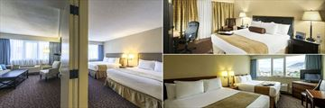 The Thompson Hotel, Kamloops, Thompson Family Suite, Thompson King and Thompson Queen Queen