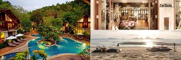 The Tubkaak Boutique Resort, Free Form Pool, L'Artisan Shop and Tubkaak Beach