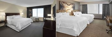 The Westin Edmonton, Executive Room King and Deluxe Room Two Queens