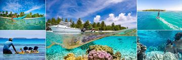 Tikehau Ninamu Resort, Kayaking, Reef and Boat, Hobie Cat, Snorkeling and Kids' Watersports