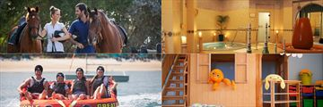 Horse riding, spa, water sports and kids club at JA Jebel Ali Beach Hotel