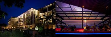 Anantara Seminyak, exterior and sunset lounge