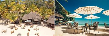 Beach bar at Maritim Resort & Spa