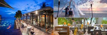 Romantic dining at Aleenta Phuket Resort & Spa