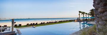 JA Palm Tree Court pool and beach