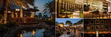 Le Royal Meridien restaurants - Shades, Rhodes20, Maya al Khaima and Ossigeno