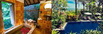 Outdoor Bath at Hotel Tugu Resort & Pool at Menjangan Resort