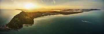 Shangri-La Rasa Rai Resort & Spa, overview of island