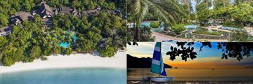 The Andaman Langkawi, overview and beachfront