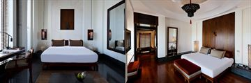 Deluxe Room and Chedi Club Suite