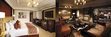 Shangri-La Kuala Lumpur, Executive Room and Malaysian Suite