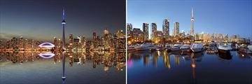 Toronto skyline & harbourfront, Ontario