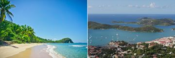 Tortola, British Virgin Islands and St Thomas, US Virgin Islands