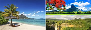 The exotic landscapes of Mauritius
