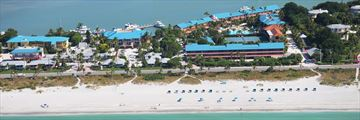 Aerial Resort View of Tween Waters Inn Island Resort