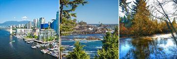 Scenery in Vancouver & Vancouver Island, British Columbia