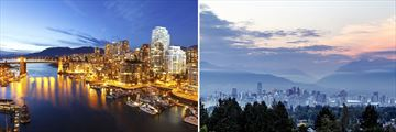 Views of Vancouver's skyline