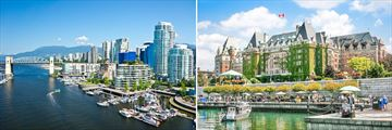 Vancouver Cityscapes & Inner Harbour in Victoria