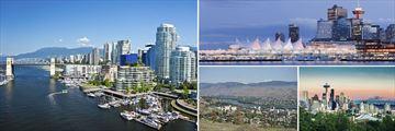 Scenery in Vancouver, Kamloops & Seattle